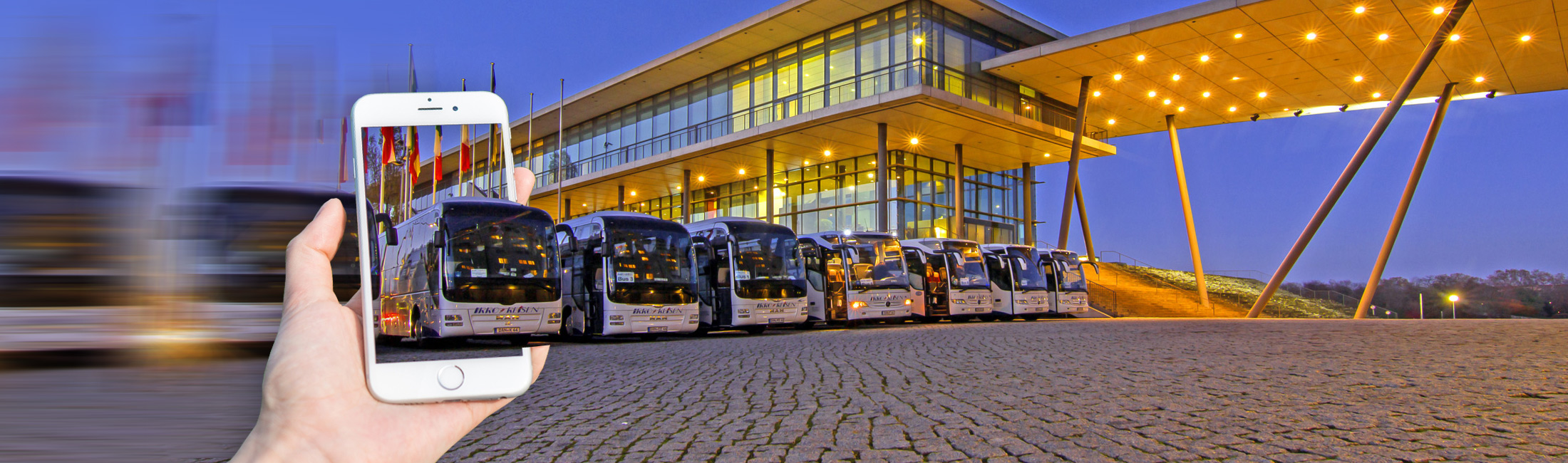 Coach Charter Germany and Europe - Get inspired!