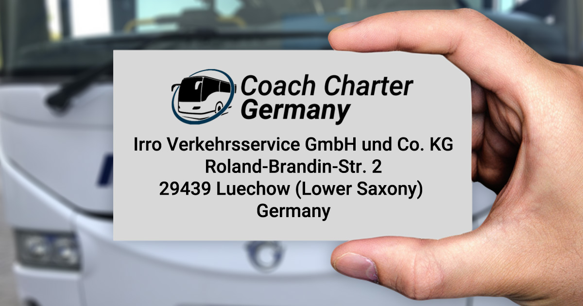 Bus Germany - Business Card