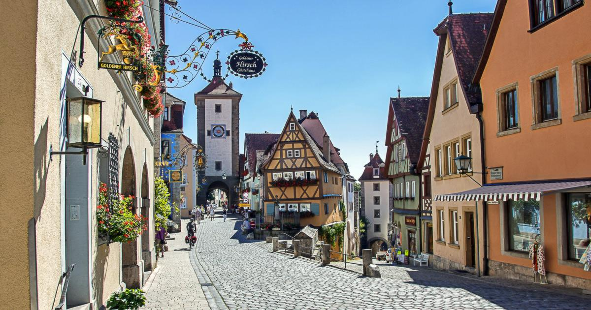 Coach Hire Rothenburg / Rent a Bus with Driver / Bus Charter Service