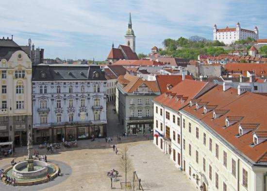 Top 10 places in Bratislava | Coach Charter | Bus rental